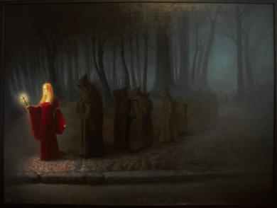 Santa compaña|PinturadeEduardo Varela| Compra arte en Flecha.es