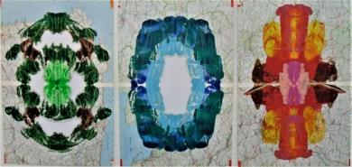 Earth, wind & fire|PinturadeFabiana Zapata| Compra arte en Flecha.es