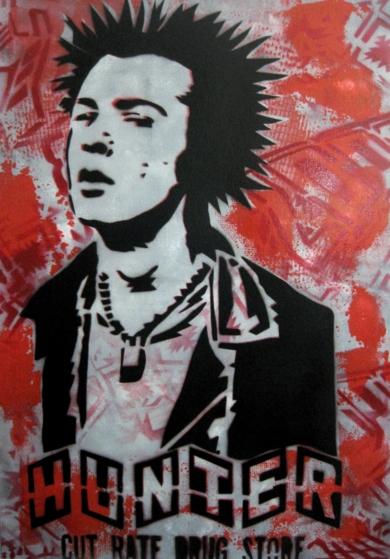 Sid Vicious III|Obra gráficadeCarlos Madriz| Compra arte en Flecha.es