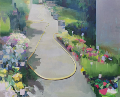 La manguera|PinturadeCarmen Montero| Compra arte en Flecha.es