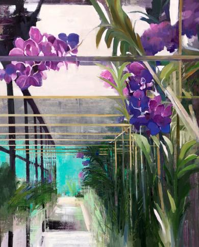 Partitura floral|PinturadeCarmen Montero| Compra arte en Flecha.es