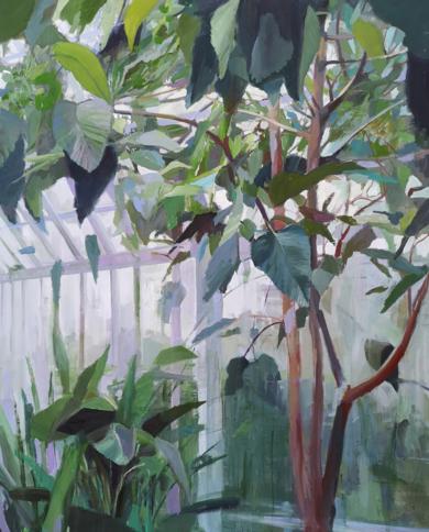 Invernadero|PinturadeCarmen Montero| Compra arte en Flecha.es