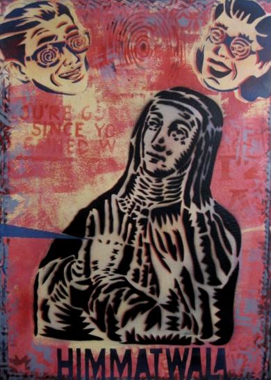 Mística IV  Teresa|Obra gráficadeCarlos Madriz| Compra arte en Flecha.es