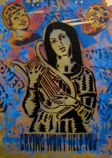 La Balada De La Dolorosa|IlustracióndeCarlos Madriz| Compra arte en Flecha.es