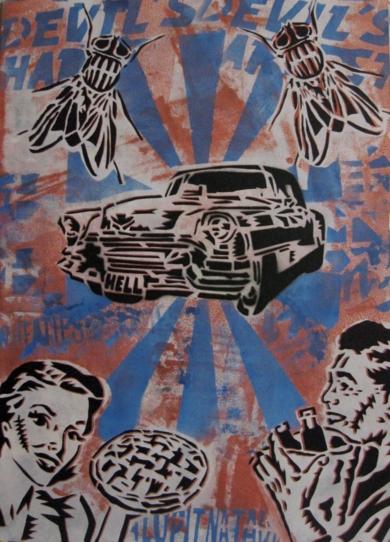 Breakfast In Suburbia|Obra gráficadeCarlos Madriz| Compra arte en Flecha.es