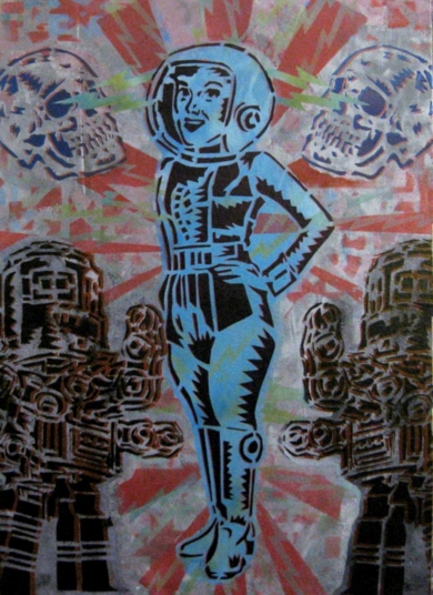 Short Circuit|Obra gráficadeCarlos Madriz| Compra arte en Flecha.es