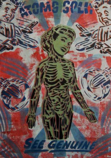 Atoms Split (Amor Platónico)|Obra gráficadeCarlos Madriz| Compra arte en Flecha.es