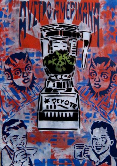 Guarapo De Peyote|Obra gráficadeCarlos Madriz| Compra arte en Flecha.es
