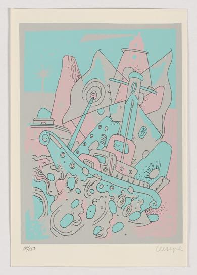 Escenas (VII)|Obra gráficadeCeesepe| Compra arte en Flecha.es