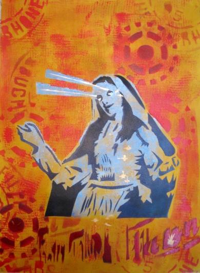 Mistíca I|Obra gráficadeCarlos Madriz| Compra arte en Flecha.es