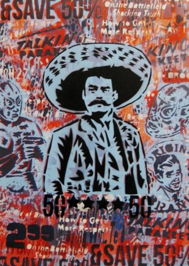 Zapata III|Obra gráficadeCarlos Madriz| Compra arte en Flecha.es