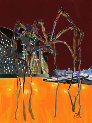 Bourgeois en Bilbao|DigitaldeSantiago Esteban Glez| Compra arte en Flecha.es
