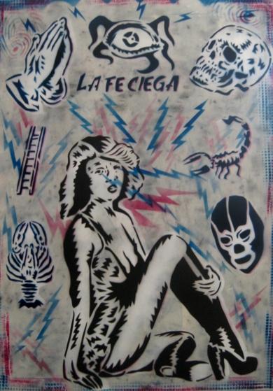 La Fe Ciega|Obra gráficadeCarlos Madriz| Compra arte en Flecha.es
