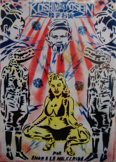 La Malkerida|IlustracióndeCarlos Madriz| Compra arte en Flecha.es