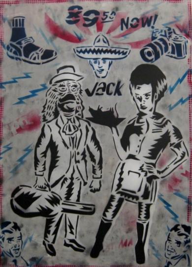 Esto es lo que hay (Pa´ Oriundos y Turistas)|IlustracióndeCarlos Madriz| Compra arte en Flecha.es