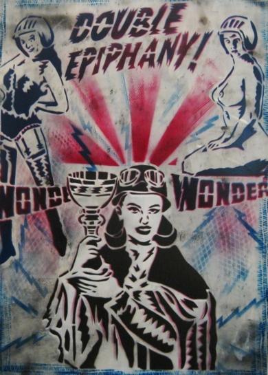 Double Epiphany|IlustracióndeCarlos Madriz| Compra arte en Flecha.es