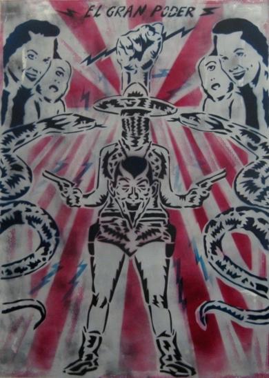 El Gran Poder|IlustracióndeCarlos Madriz| Compra arte en Flecha.es