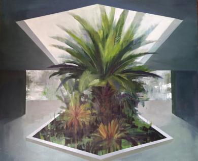 Arquitecturas y vegetación|PinturadeCarmen Montero| Compra arte en Flecha.es