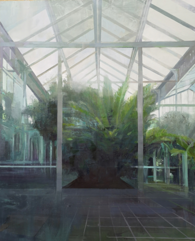 Jardín Museo|PinturadeCarmen Montero| Compra arte en Flecha.es