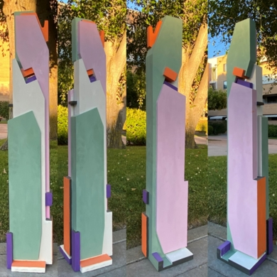 Totem1 cmyk|EsculturadePABLO URRUTI| Compra arte en Flecha.es