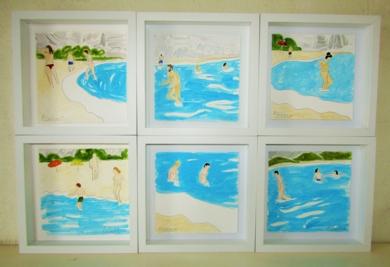 Cala San Pedro|PinturadeMiguel Costales| Compra arte en Flecha.es