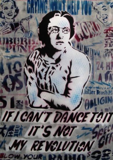 Emma Goldman III|Obra gráficadeCarlos Madriz| Compra arte en Flecha.es