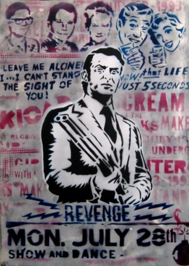 Revenge III|Obra gráficadeCarlos Madriz| Compra arte en Flecha.es