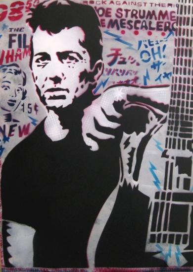 Combat Rock|Obra gráficadeCarlos Madriz| Compra arte en Flecha.es
