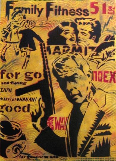 Lee Marvin|Obra gráficadeCarlos Madriz| Compra arte en Flecha.es