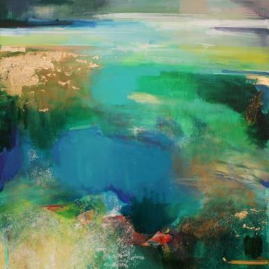 Riverside 1|PinturadeMagdalena Morey| Compra arte en Flecha.es