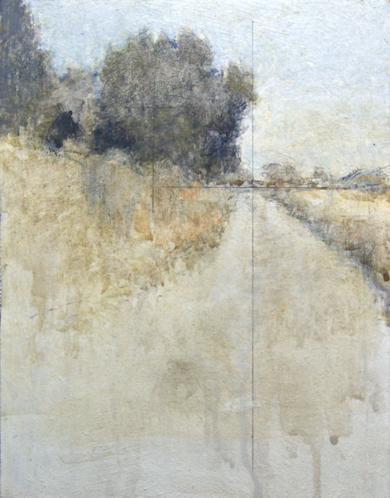 Vereda junto al rio|PinturadeJosé Luis Romero| Compra arte en Flecha.es