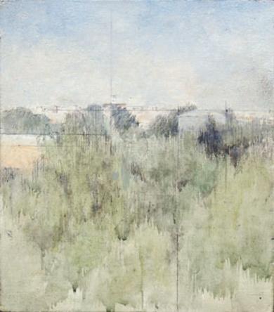 Entre la arboleda|PinturadeJosé Luis Romero| Compra arte en Flecha.es