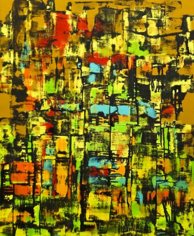 La  jungla|PinturadeEddy Miclin| Compra arte en Flecha.es