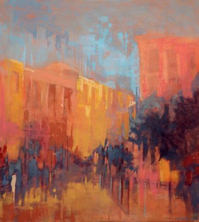 Malasaña|PinturadeJENNY FERMOR| Compra arte en Flecha.es
