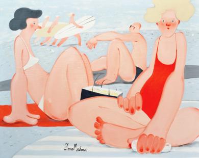 Afternoon|PinturadeYana Medow| Compra arte en Flecha.es