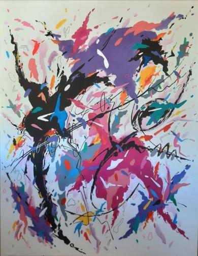 It´s a Man´s Man´s Man´s World|PinturadeValeriano Cortázar| Compra arte en Flecha.es