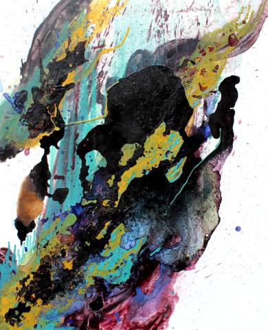 La corriente|PinturadeInopia| Compra arte en Flecha.es