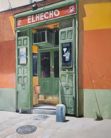 El Hecho- Madrid|PinturadeTOMAS CASTAÑO| Compra arte en Flecha.es