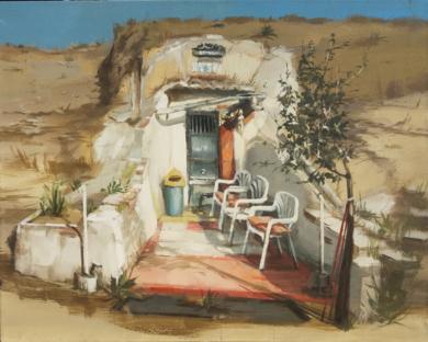 Bodega|PinturadeLeticia Gaspar| Compra arte en Flecha.es