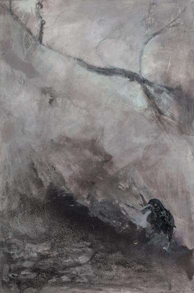 Crow|PinturadePilar Álvarez| Compra arte en Flecha.es