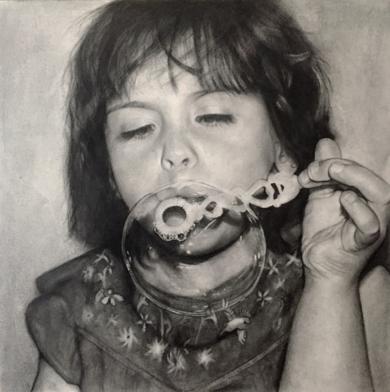 Jimena|DibujodeISABEL  AVILA| Compra arte en Flecha.es