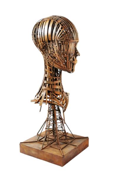 CABEZA DE MUJER|EsculturadeFernando Suárez| Compra arte en Flecha.es