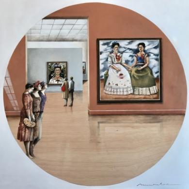Miradas VII|CollagedeMenchu Uroz| Compra arte en Flecha.es