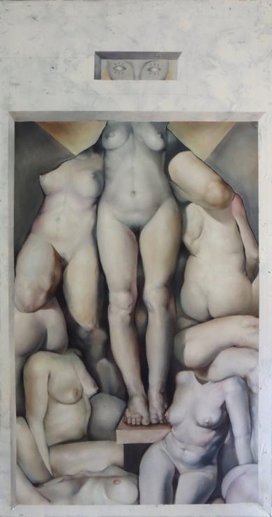 La Corporeidad (III)|PinturadeVíctor Bayonas| Compra arte en Flecha.es