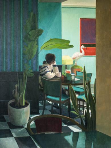 Entre verdes|PinturadeOrrite| Compra arte en Flecha.es