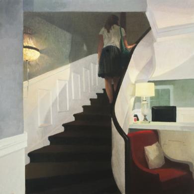 La escalera|PinturadeOrrite| Compra arte en Flecha.es