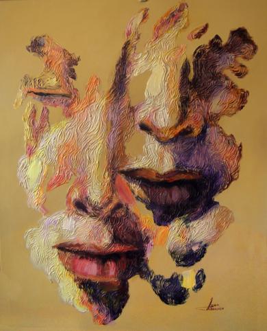 GEOGRAFÍA HUMANA III|PinturadeJuan Chamizo| Compra arte en Flecha.es