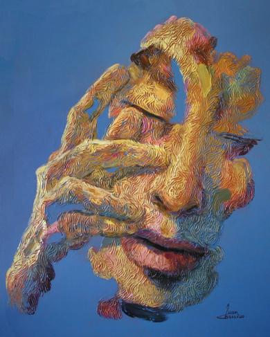GEOGRAFÍA HUMANA IX|PinturadeJuan Chamizo| Compra arte en Flecha.es