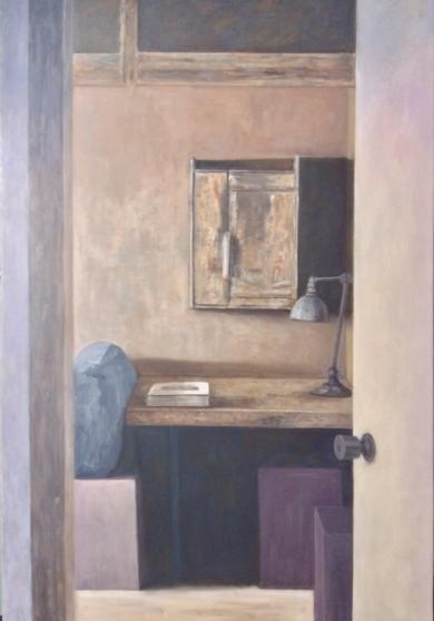 Mi viejo estudio|PinturadeReyes| Compra arte en Flecha.es