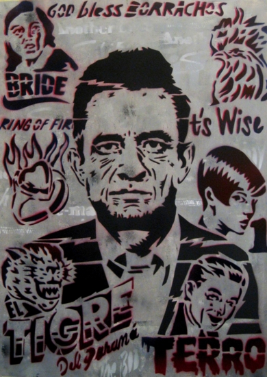 Johnny Cash IV|Obra gráficadeCarlos Madriz| Compra arte en Flecha.es